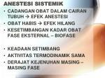 anestesi sistemik