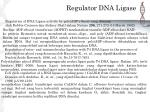 regulator dna ligase
