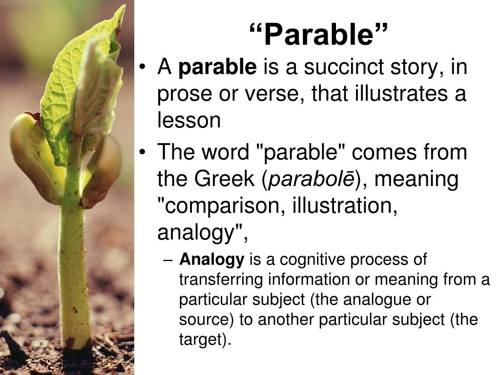 PPT - The Parable of the Soils PowerPoint Presentation - ID