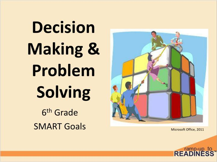 decision making problem solving n.