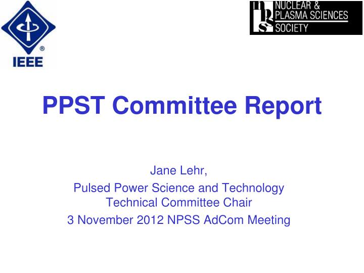 ppst committee report n.