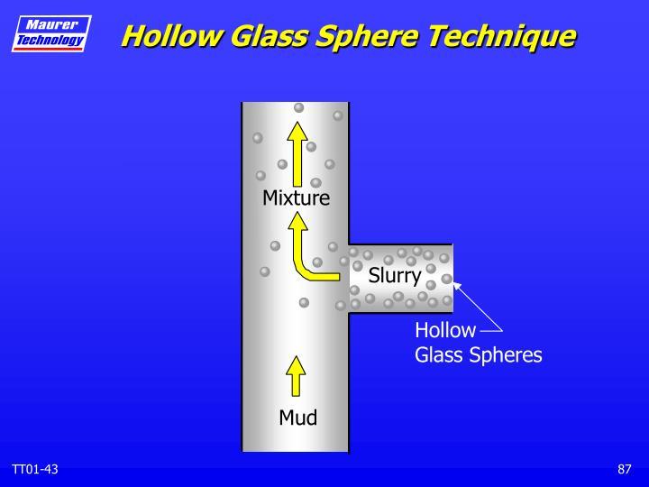 Hollow Glass Sphere Technique