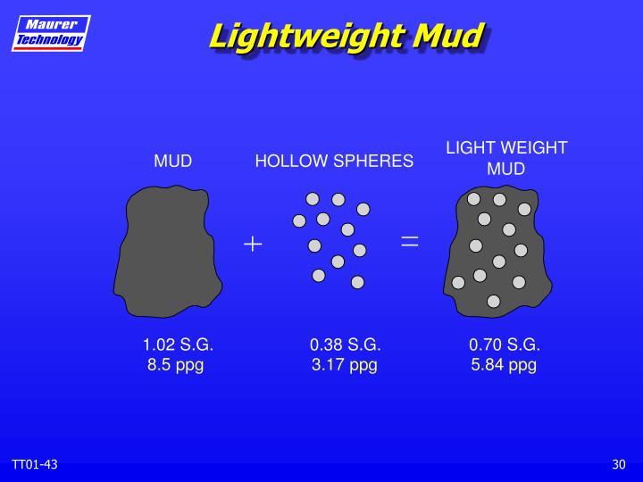 Lightweight Mud