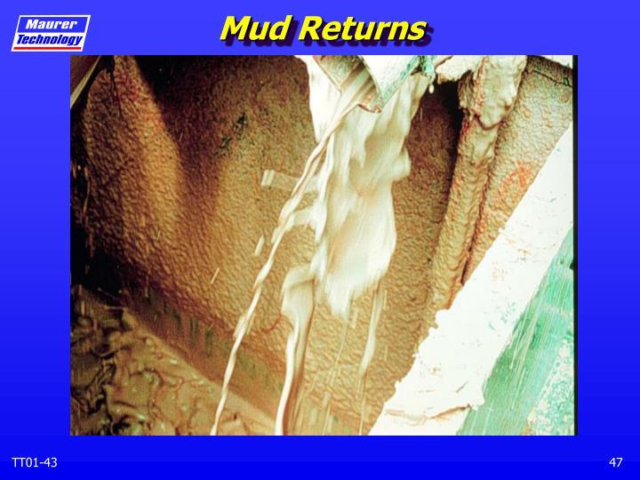 Mud Returns