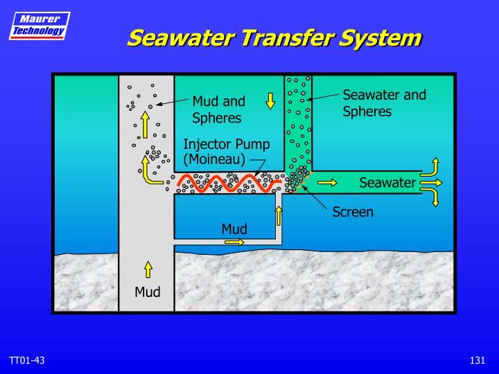 Seawater Transfer System