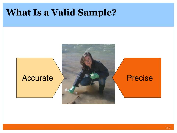 What Is a Valid Sample?