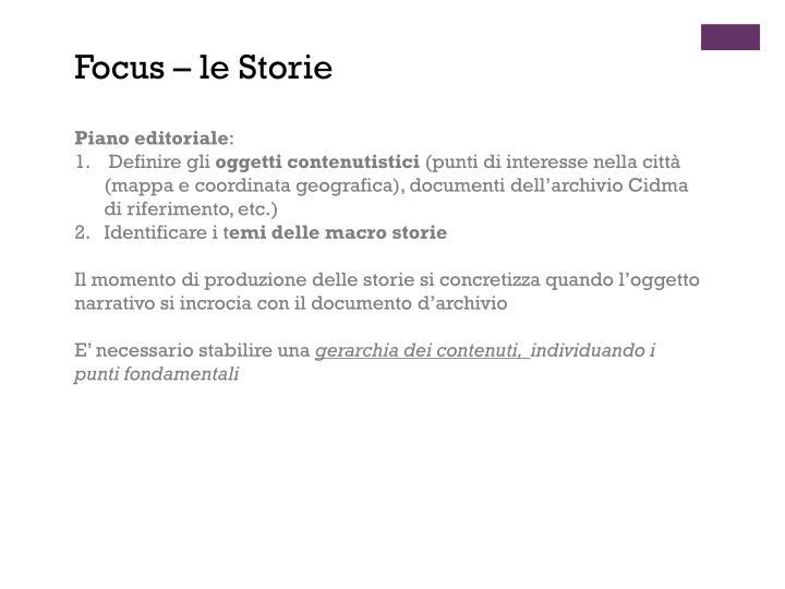 Focus – le