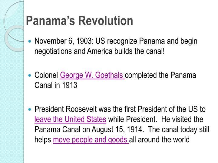 Panama's Revolution