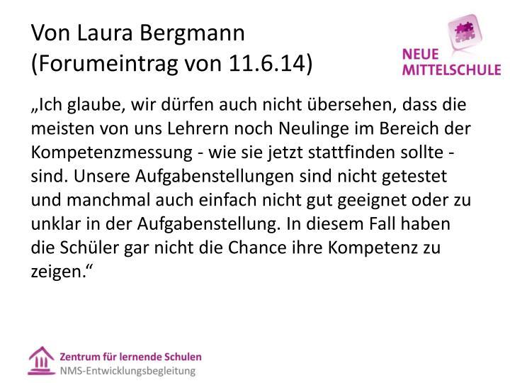 Von Laura Bergmann