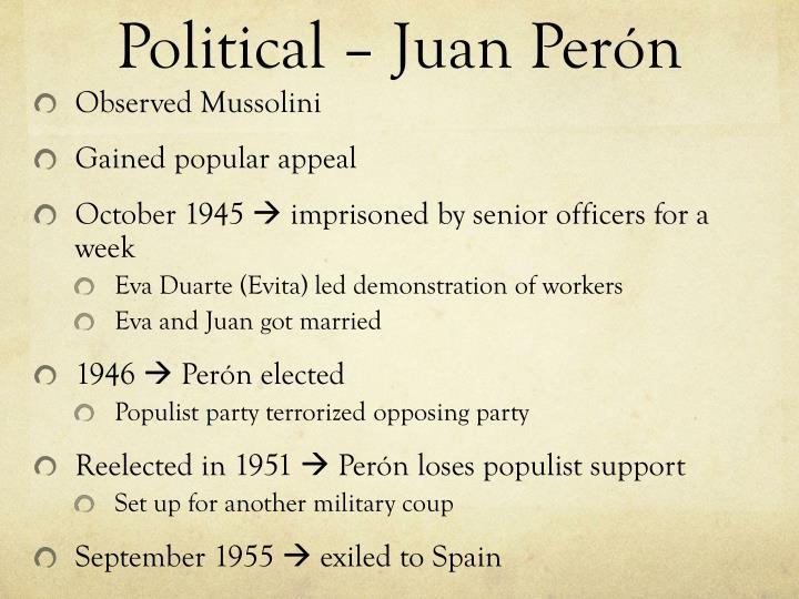 Political – Juan