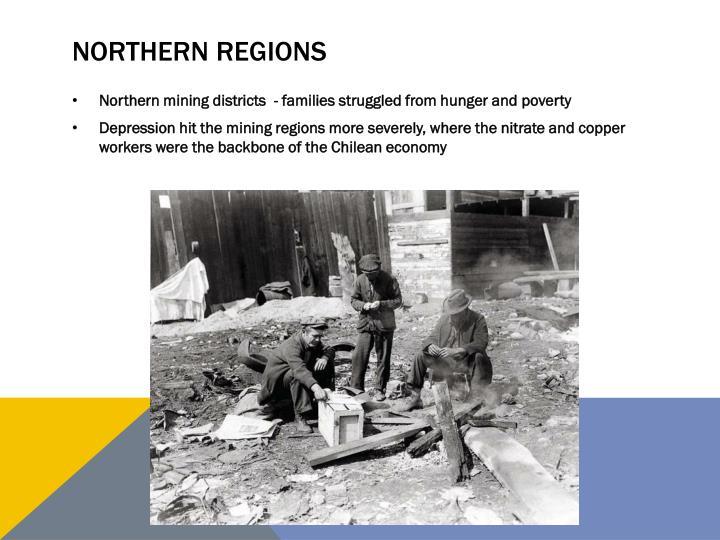 NORTHERN REGIONS