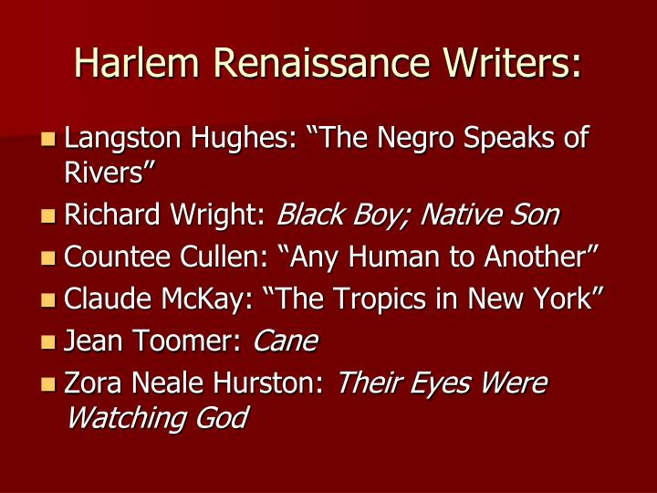 a comparison of richard wright and zora neale hurston in african american literature