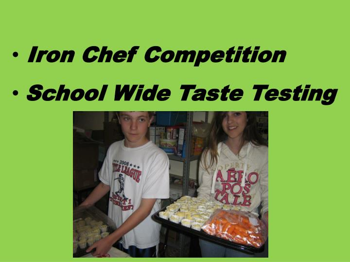 Iron Chef Competition