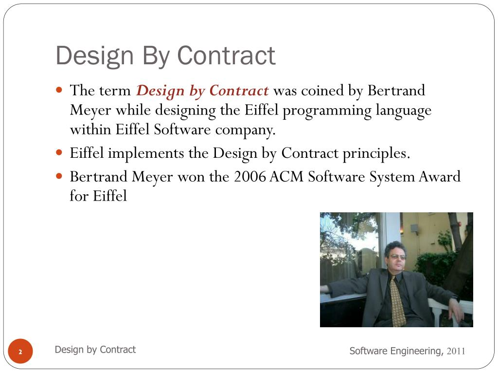 Ppt Software Engineering Design By Contract Powerpoint Presentation Free Download Id 2060567