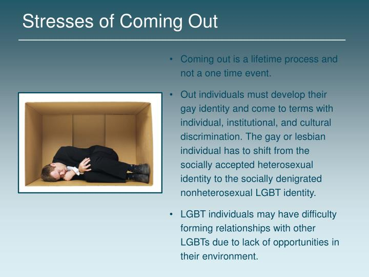 Stresses of Coming Out