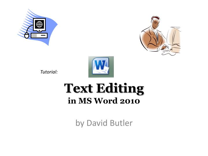text editing in ms word 2010 n.