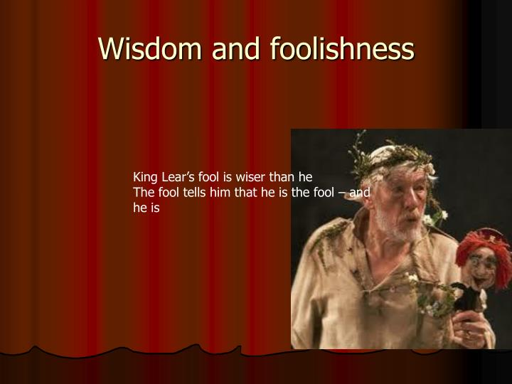 sight in king lear essay In shakespeare's king lear emotional sight is non dependent on physical sight for many characters are blinded by their ain self-importances and aspirations to see the existent truth.