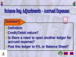 balance day adjustments accrued expenses3
