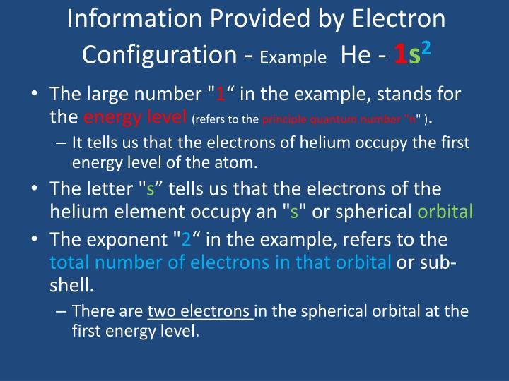 Ppt Electron Configuration Powerpoint Presentation Id2061088