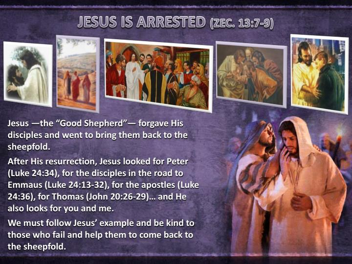 JESUS IS ARRESTED
