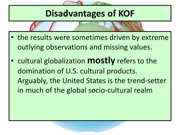 Disadvantages of KOF