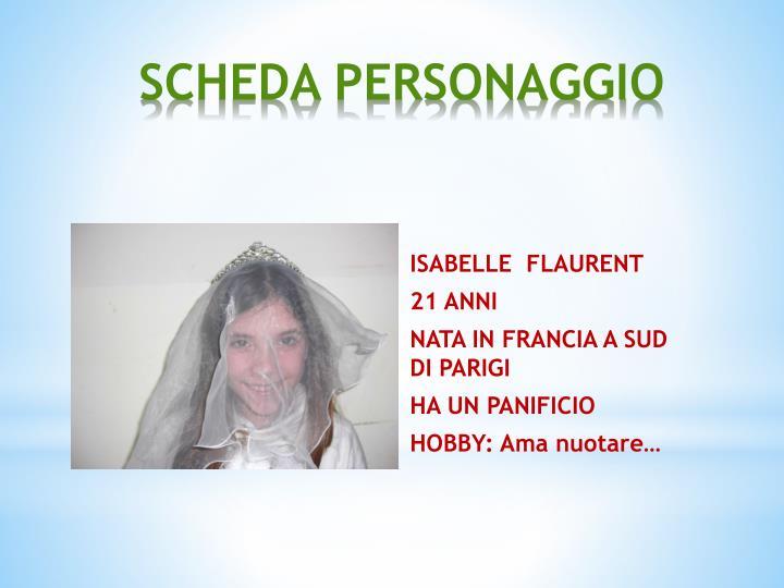ISABELLE  FLAURENT