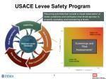 usace levee safety program