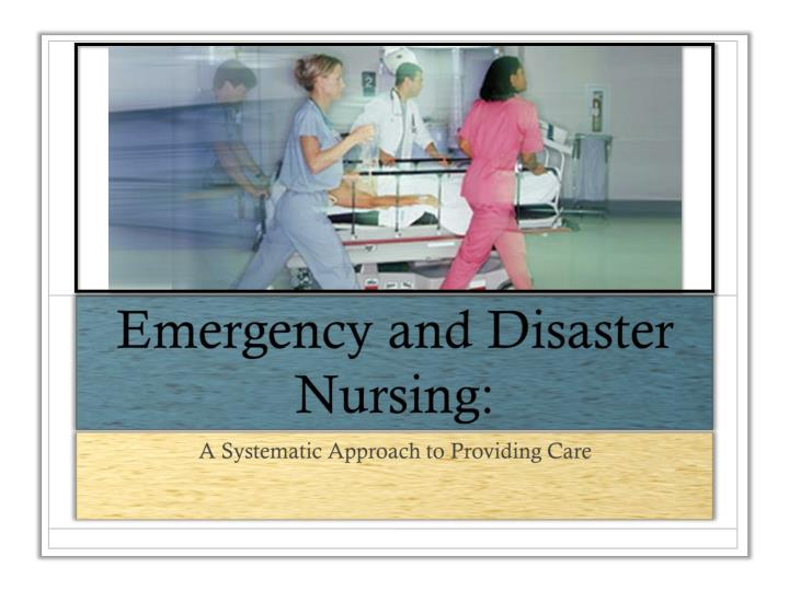 systematic approach in nursing Systematic approach to client care the aim of this assignment is to show the importance of a collaborative, inclusive approach to care and issues related to the context of care within a health care setting for the purpose of this essay i.