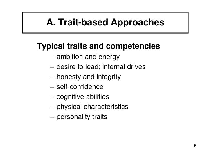 trait and biological approaches essay Trait and biological approaches essay sample definition: the theoretical view of personality that focuses on individual differences in personality and behavior, and the psychological processes behind them.