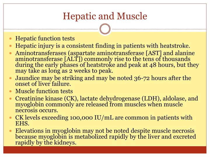 Hepatic and Muscle