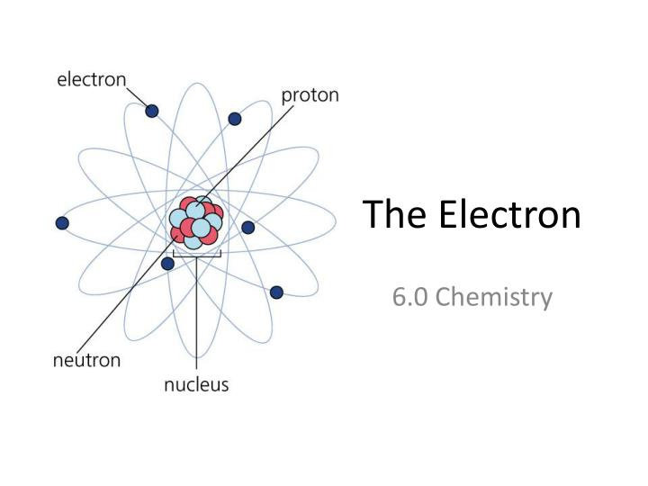 the electron n.