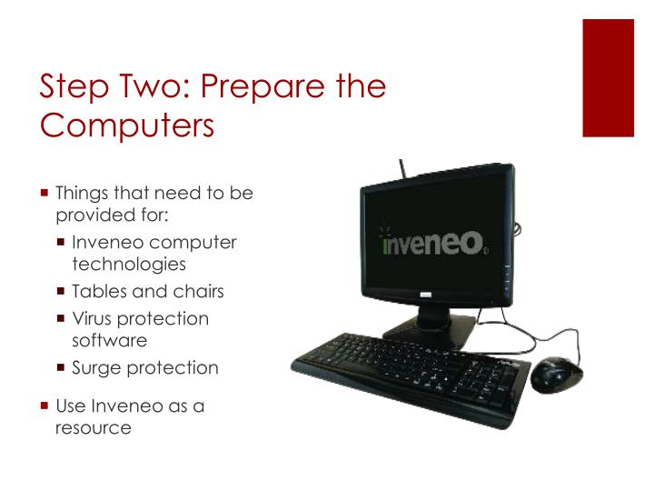 Step Two: Prepare the Computers