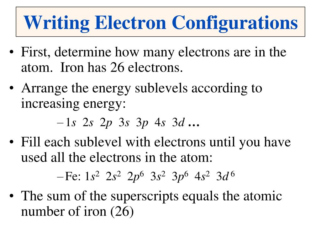 Ppt Electron Configuration Powerpoint Presentation Manual Guide