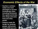 economic effects of the war1