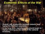 economic effects of the war2
