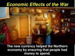economic effects of the war5