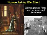 women aid the war effort1
