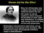 women aid the war effort10