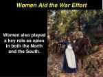 women aid the war effort14