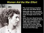 women aid the war effort16