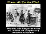 women aid the war effort2
