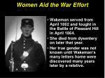 women aid the war effort21