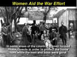 women aid the war effort22