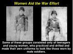 women aid the war effort23