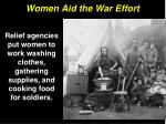 women aid the war effort4