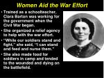 women aid the war effort8