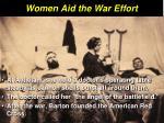 women aid the war effort9