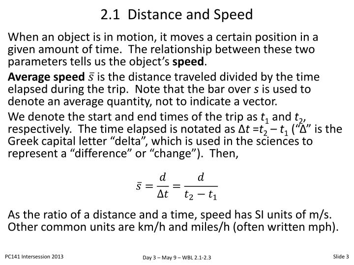 2 1 distance and speed1