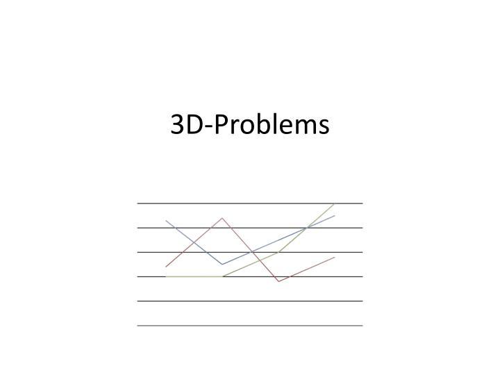 3D-Problems