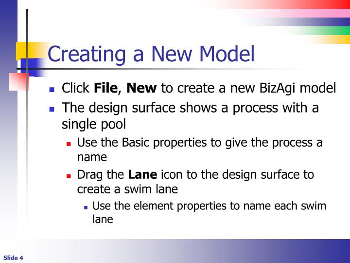 Creating a New Model